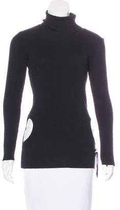 Sonia Rykiel Sonia by Turtleneck Wool Sweater
