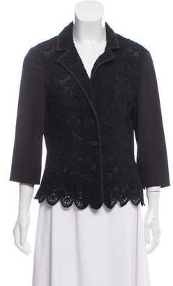 Philosophy di Alberta Ferretti Embroidered Button-Up Top