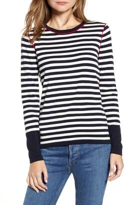 Tommy Hilfiger Stripe Crewneck Sweater