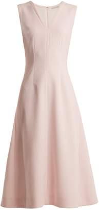 Emilia Wickstead Suki sleeveless double-crepe dress