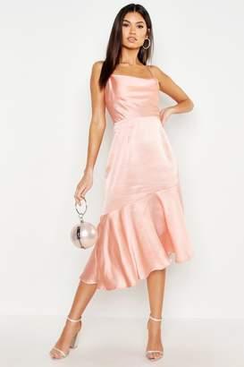 ca544dd0b19 boohoo Orange Midi Dresses - ShopStyle UK