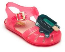 Mini Melissa Baby's & Toddler's Todd Aranha VIII Popsicle Sandals $58 thestylecure.com