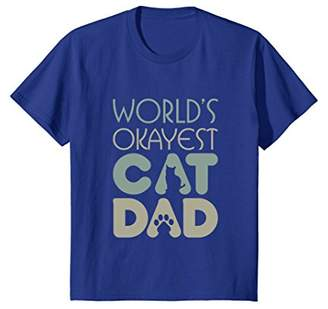Best Cat Dad Ever Cat Lover Gift T-Shirt