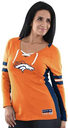 Majestic Women's Denver Broncos Winning Style Tee