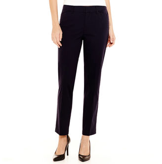 STYLUS Stylus Crossover Ankle Pants - Tall $48 thestylecure.com