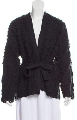 Maiyet Textured Wool Cardigan