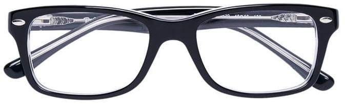 Ray Ban Junior rectangular glasses