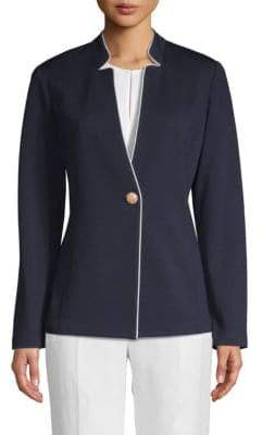 St. John Milano Knit Long-Sleeve Jacket
