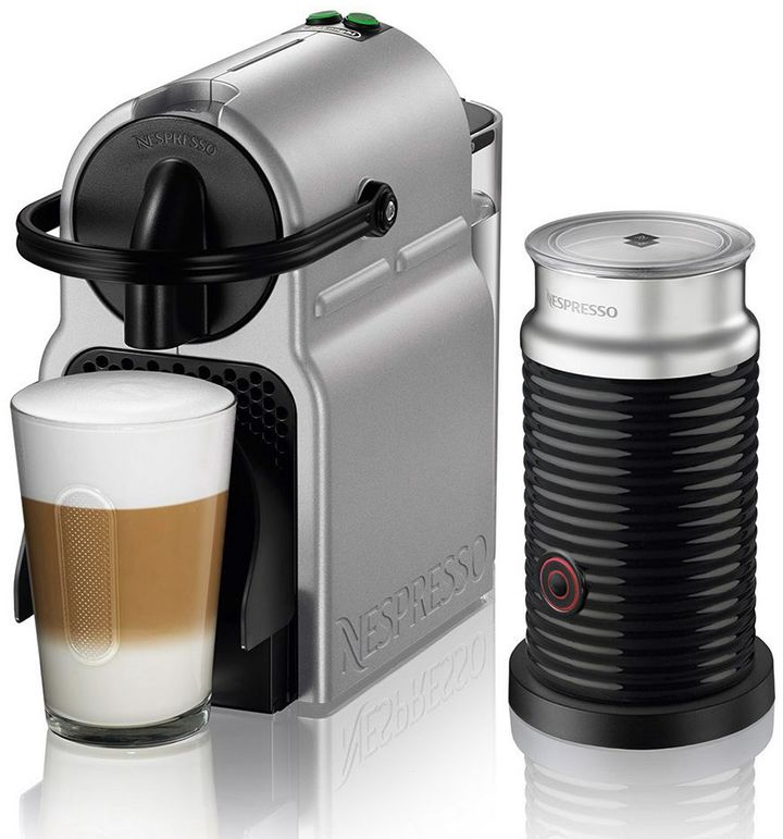 Nespresso Nespresso Inissia Espresso Machine with Aeroccino Milk Frother