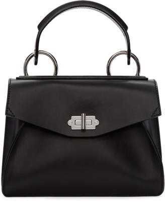 Proenza Schouler Black Small Hava Top Handle Bag