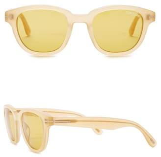 Tom Ford Acetate 49mm Sunglasses