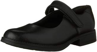 Clarks Girls Sami Sugar JR Leather School Shoe
