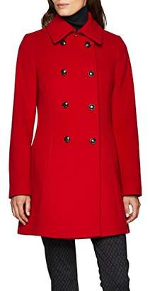 Daniel Hechter Women's Wool Coat (red 300)