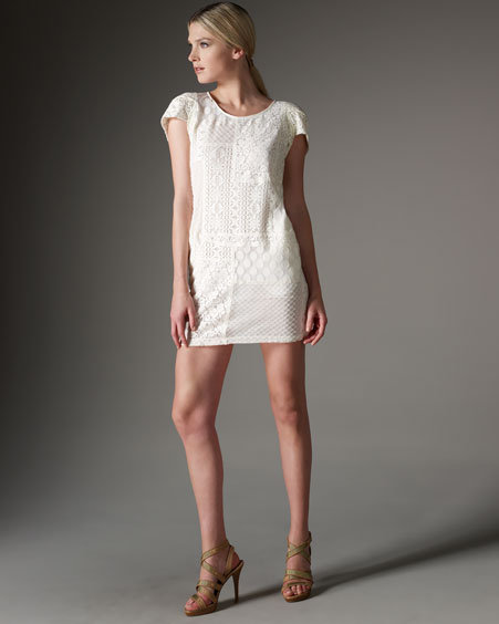 See by Chloe Lace Combo Dress