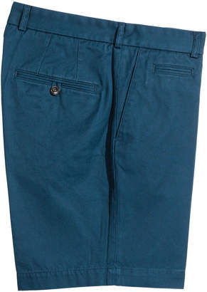 H&M Premium Cotton City Shorts - Blue