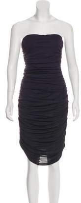 Michael Kors Strapless Knee-Length Dress w/ Tags