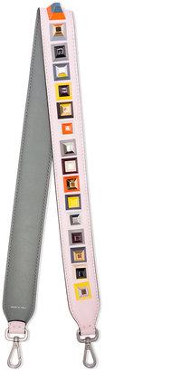Fendi Strap You studded leather shoulder strap