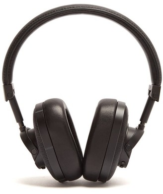Master & Dynamic - Mw60 Leather On Ear Wireless Headphones - Mens - Black