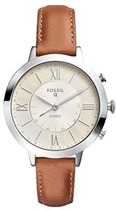 Fossil Q Women's Jacqueline Stainless Steel and Leather Hybrid Smartwatch