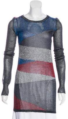 Isabel Marant Metallic Colorblock Tunic