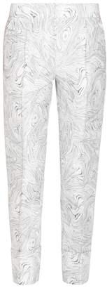 Noon By Noor Lev Turned Up Printed Pants