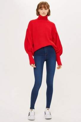 Topshop Rich Blue Joni Jeans