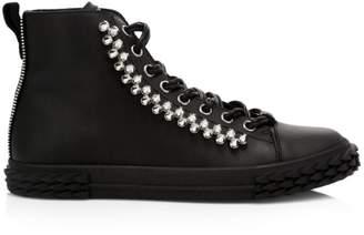 6be26035df4a0 Giuseppe Zanotti Black Leather Shoes For Men - ShopStyle UK