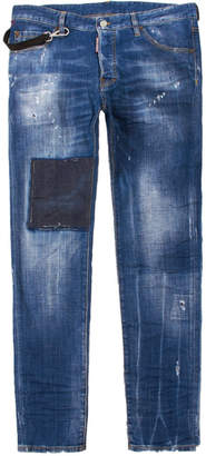 DSQUARED2 Jeans Cool Guy - Washed Indigo