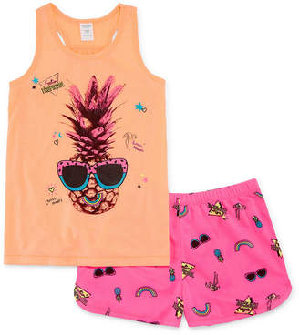 Arizona 2-pc. Tank and Short Pajama Set - Big Girl & Plus