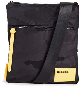 Diesel Camo Cross Body Bag