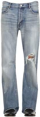 Balenciaga 20cm Destroyed Bootcut Denim Jeans