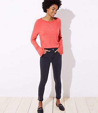 LOFT Petite Modern Soft Skinny Jeans in Staple Grey Wash