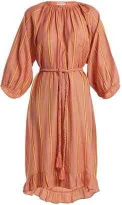 Apiece Apart Ilia striped cotton-blend dress