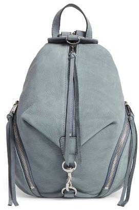Rebecca Minkoff Medium Julian Nubuck Backpack - Blue $245.10 thestylecure.com
