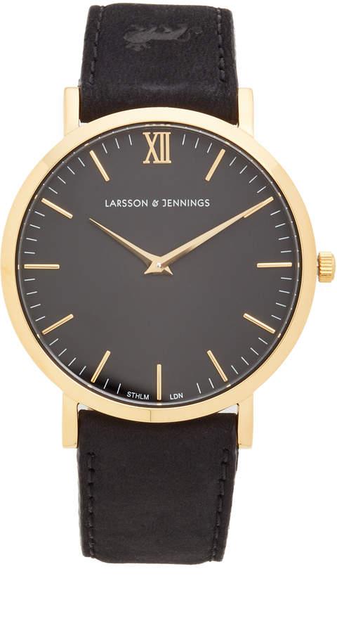 Lugano Large Strap Watch