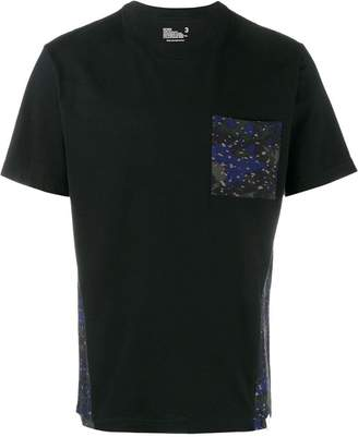 White Mountaineering camouflage print t-shirt