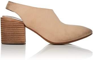 Marsèll Women's Distressed Nubuck Slingback Sandals