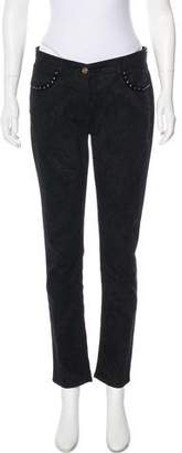 Etro Mid-Rise Skinny Jeans