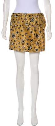 See by Chloe Printed Mini Skirt