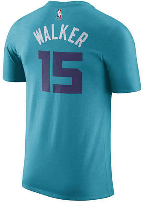 Nike Men's Kemba Walker Charlotte Hornets Name & Number Player T-Shirt
