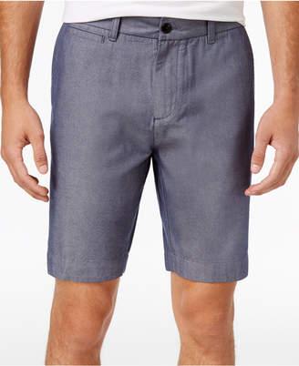 "Tommy Hilfiger Men's 9"" Chambray Chino Shorts"