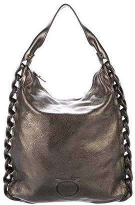 Salvatore Ferragamo Leather Hobo Bags - ShopStyle d9e6507575a1a