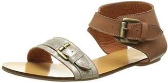 Pastelle Women's Anne Sandals Brown Size: