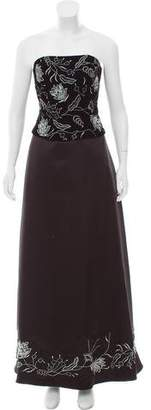 Jovani Embellished Embroidered Gown w/ Tags