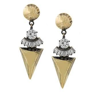 Iosselliani White Eclipse earrings