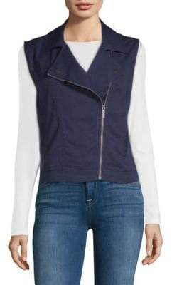 Sanctuary Tencel Moto Vest