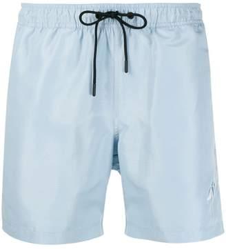 J. Lindeberg Banks logo swimming shorts