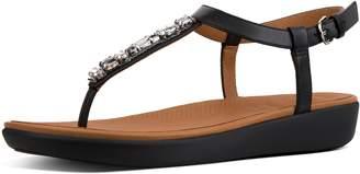 FitFlop Tia Galaxy Jewel Leather Sandals