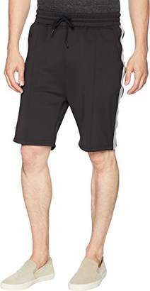 Publish Brand INC. Men's Mathias-Premium Comfort Side Ribbed Shorts