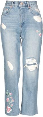 Anine Bing Denim pants - Item 42723676AL
